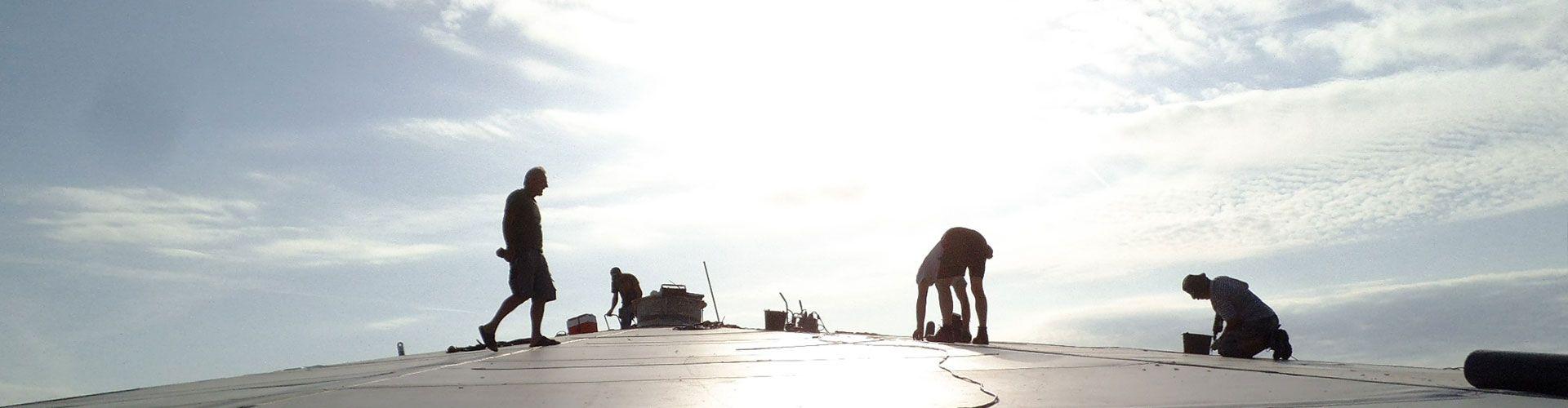 Dachdeckerhandwerk ohne Subunternehmer