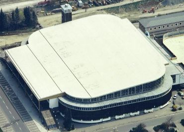 OLYMPIA Eissportstadion – Garmisch Partenkirchen, Ausführungsart: Mechanisch Befestigte Sarnafilabdichtung